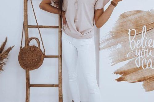 modna bluzka damska na sezon letni